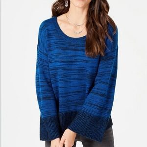 Style&Co Marled Colorblocked Sweater
